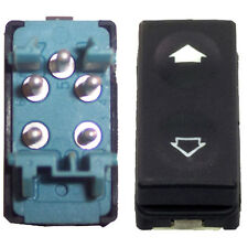 Power Window and Sunroof Switch - BMW E36 Rear - Blue Back - 5 Pin - New