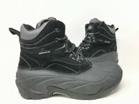 NEW! Out Land Men's Lace Up Hiking Boots Black/Grey #0000327393 181R tk