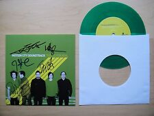 """Motion City Soundtrack - This Is For Real PART 2 7"""" green vinyl signed"""