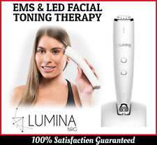 Anti Aging Face Lift EMS & LED Facial Toning Therapy Beauty Home Device