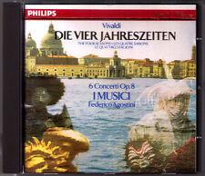 VIVALDI The Four Seasons Die vier Jahreszeiten I MUSICI Federico AGOSTINI CD '90