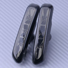 2pcs SMOKE LENS LED SIDE MARKER LIGHT fit for BMW E46 4DR 99-01 2DR COUPE 99-03