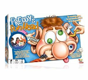 Freddy Fun Head 3D Game Funny Family Activity cards surprise Magic Mystery