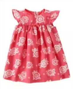 NEW Gymboree Girls Elephant Oasis Dress & Diaper Cover Infant 0-3 Months