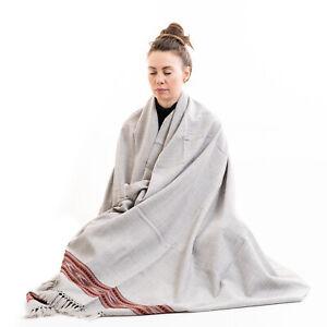 Meditation Shawl or Meditation Blanket,Wool Shawl or Wrap,Oversize Scarf. Unisex