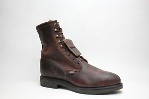 Justin Original Workboots Conductor 8 Inch Electrical St Mens  Work Safety Shoes