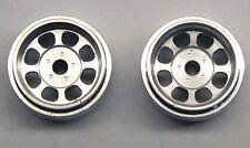 CB DESIGN 1410 NASCAR SILVER ALUMINUM WHEELS 15mm x 8mm - NEW 1/32 SLOT CAR PART