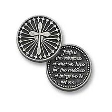 Faith is the Substance Pocket Token Coin - set of 2