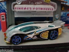 2012 Hot Wheels  SIDE DRAFT  ☆Gray w/ Gold ☆Loose Multi Pack Design Exclusive