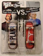 TECH DECK PAUL RODRIGUEZ vs RYAN SHECKLER 2-PACK MOSC FINGER BOARD SKATEBOARD