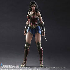 SQUARE ENIX Batman v Superman Wonder Woman Play Arts Kai Figure