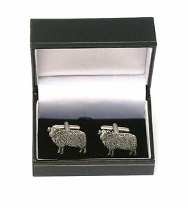 Aries The Ram Pewter Cufflinks Ideal Mens Astrology Gift Boxed 011