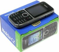 Brand New Boxed Nokia C2-01-Unlocked Camera Mobile Phone in Black & Gold Colours