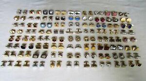Vintage Lot 72 Pair Cufflinks * Swank * Hickok * Shields * More *  Nice
