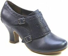 Synthetic Leather Cuban Heels for Women