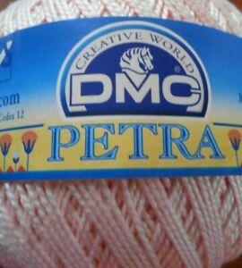 DMC Petra - 100g Ball Size 5 Crochet Thread Pink Number 53326