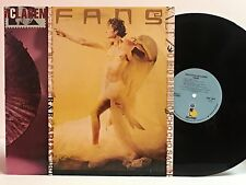 MALCOM McLAREN~FANS~1984 U.S. PROMO w/FOLD-OUT INSERT~OPERA/POP MASHUP~ISLAND~EX