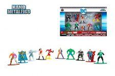 DC Comics Nano Metalfigs 10 Pack Die-Cast Figure Collector's Set Superman Batman