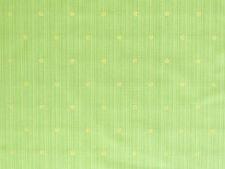 Sonderpreis Sale Reststück Stoffe BW Jacquard  1,01x53 Punkte Streifen grün gelb