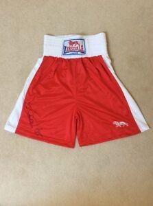 Chris Eubank Jr Signed Lonsdale Boxing Shorts