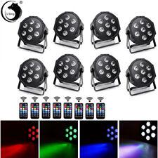4 in 1 RGBW 7 LED Stage Lighting DMX PAR Light Party DJ Disco Lights Uplighter