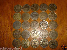 Brothel Tokens Set of 25 Reproduction Old West Whiskey Girls Whorehouse
