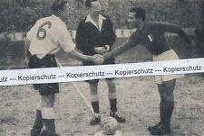 Länderspiel England gegen Spanien in London -  Wright - um 1950 - RAR  J 30-11