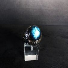 Ring Gr. 57 Silber 925 mit Labradorit