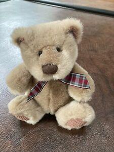 "NEW! First & Main ""CUBBIE"" Bear Plush Stuffed Small 8 Inch"
