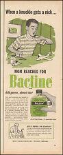 1963 Vintage ad for Bactine`Antiseptic Art Photo   (090616)