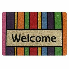 Welcome Doormat Indoor Small Felt Mats Area Floor Mat Carpet Non-slip Bathmat