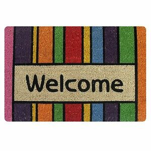 Welcome Doormat Indoor Small Felt Mats Area Floor Mat Carpet Non-slip Bathmat