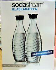SodaStream Crystal DuoPack Glaskaraffe (2 x 0,6L Glaskaraffen) - NEU und OVP