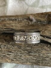 Size 9 Sterling Silver Band