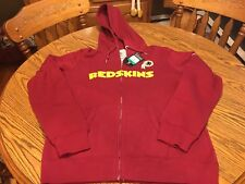 b0e73c6c3 Washington Redskins NFL Women s Nike Hooded Full Zip Sweatshirt Size ...