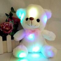 Bunte LED-Plüsch-Pandas-Musik trägt Nachtlicht weiche angefüllte Spielwaren G0B3