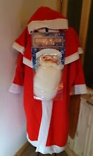 Father Christmas Santa Cape Used And Smiths Beard New