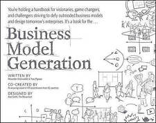 Business Model Generation - Visionaries Game Changers Challengers Paperback Book