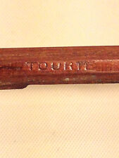 Antique Tourte Saxony (and Other Letters) Violin Bow Six Sided Shaft w/ Frog