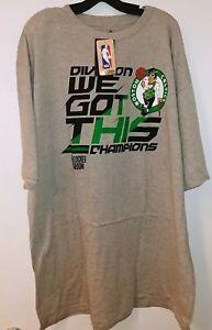 Boston Celtics Fanatics Mens Plus Size T-Shirt NWT 3XLB