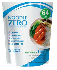 Noodle Zero Premium Shirataki Konjac Noodle,Keto Friendly,Low Calorie - Seafood