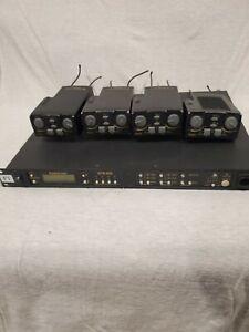 Telex RadioCom BTR-800 + (4) TR-825 Beltpack Units