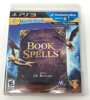 Wonderbook: Book of Spells (Sony PlayStation 3, 2012) PS3 Game Only Tested