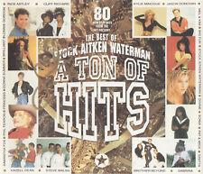 BEST OF STOCK AITKEN WATERMAN - A TON OF HITS - DOUBLE CD + SINITTA AUTOGRAPH