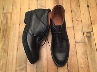FRYE JIM CHUKKA MENS LEATHER BOOTS 3486985 NWOB SHOES SIZE 11