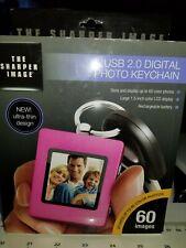 The Sharper Image USB 2.0 Digital Photo Keychain