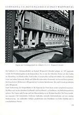 Seidenweberei Gebhard Wuppertal XL Reklame 1951 Weberei VW Käfer Seide