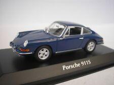 PORSCHE 911 S 1964 BLAU 1/43 MAXICHAMPS 940067121 NEU