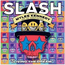 SLASH Feat. MYLES KENNEDY Living The Dream CD BRAND NEW Guns 'n Roses