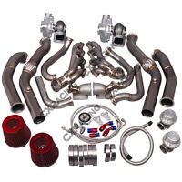 CX Twin Turbo Manifold Downpipe Kit for G-Body LS1 LS  Grand National Bonneville